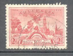 Australia Australien 1936 - Michel Nr. 134 O - 1913-36 George V : Other Issues