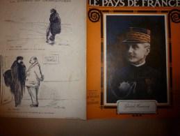 1915 JOURNAL De GUERRE(Le Pays De France):Spahis;Haïdar-Pacha;San-Stefano;Ploufragan;St-Barnabé;SOUS-MARIN;Lick;Gerdauen - Magazines & Papers
