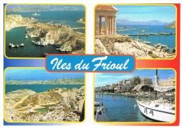 Marseille : Les Iles Du Frioul, Multivues - Château D'If, Frioul, Islands...