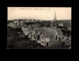 29 - LOCQUIREC - Abside - église - Locquirec
