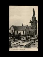 29 - LOCQUIREC - église - Cimetière - Locquirec