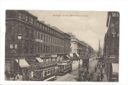 10137 -  Grainger Street Newcastle On Tyne Tramway - Newcastle-upon-Tyne