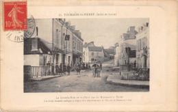 """¤¤  -   11   -   TOURNON-SAINT-PIERRE    -  La Grande-Rue Et Le Pont Sur Le Ruisseau """" Le Suint """"      -  ¤¤ - Non Classificati"""