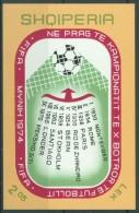 ALBANIA 1974  MONDIALI DI CALCIO - MNH - Coppa Del Mondo