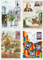 """Lot de 10  """"Journ�es du Timbre """" France / Paris , Grasse , Cannes"""