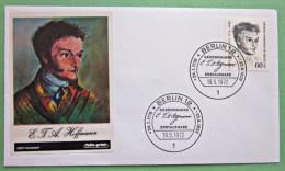 Brief FDC Briefmarken Deutschland Berlin Hoffmann1972 Ersttagsbrief - Berlin (West)