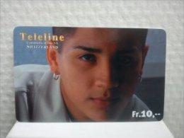 Teleline Prepaidcard Zwitzeland Used