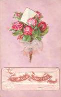 Carte Postale Anciennne Fantaisie - Chromo - Ajoutis - Fantaisies
