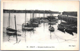 22 ERQUY - Barques De Pêche Au Port - Erquy