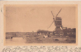 Art,painting, V. Bauffe - Le Moulin - Unclassified