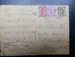 44/286   CP  BELGE OBL. VRASENE  1940 - Belgium