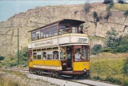 Tram,Glasgow Corporation Tramcar 22,1922,Now At Crich Derbyshire.L10 . - Tramways