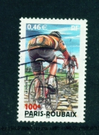 FRANCE  -  2002  Cycle Race  46c  Used As Scan - Used Stamps