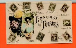 Fantaisie - Les TIMBRES - Langage Des Timbres N°2197 - Timbres (représentations)