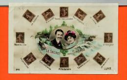 Fantaisie - Les TIMBRES - Le Secret Des Timbres N°246 (plis ) - Timbres (représentations)