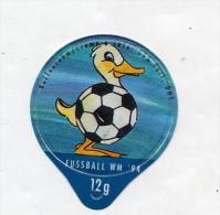 opercule de creme theme canard coupe monde football