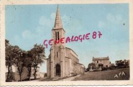 81 - VAOUR - EGLISE ET GENDARMERIE - Vaour