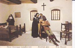 Musée Historique Canadien -Montréal,Jeanne Mance Et Marguerite Bourgeoys-Fondation Du 1er Hospital Montréal-1644- Cpm, - - Museum