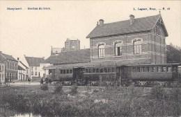 Hoeylaert  Hoeilaart   Station du tram  Edit Lagaert n� 17     TRAM VAPEUR  STOOMTRAM