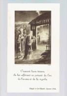Image Religieuse - Supp. La Charité 1934 - Offerte Pour Les Obsèques Du Roi Albert 1er - Imp. COPPIN-GOISSE   (3657) - Images Religieuses