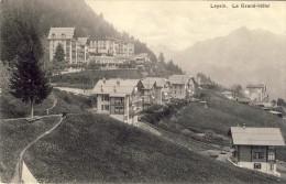 LEYSIN. Le Grand-Hôtel - 2 Scans - VD Vaud