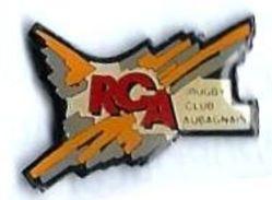R29 - RCA RUGBY CLUB AUBAGNAIS - Verso : FC PIN'S - Rugby