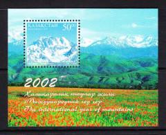 KAZ-    19    KAZAKHSTAN – 2002 INTERNATIONAL YEAR OF MOUNTAINS