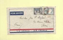 Vol Air France - Argentine Paris - 1937 - Air Post