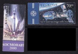KAZ-12KAZAKHSTAN – 2000 SPACE SOUZ-APPOLO 25TH - Space