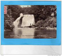 Nouvelle Zélande-aniwaniwa-falls Lake Waikaremoana-animée -a Voyagé Pour Belgique 1908-belle Oblitération - New Zealand