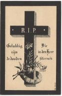 Doodsprentje. Image Pieuse Mortuaire. Leonia-Elodia Vandeputte. Waregem -Waereghem 1851/1897 - Images Religieuses
