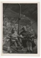 Foto/Photo. Femme,Enfant & Télésiège. Vianden 15 Mai 1958. - Lieux