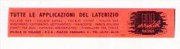 Segnalibro/bookmark RDB erredibi (Piacenza) Tutte le applicazioni del laterizio. Anni�30/�40