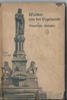Poésie Allemande Du Moyen-Age/ Walther Von Der Vogelweide/Samtliche Qedichte/1925 LIV38 - Livres, BD, Revues