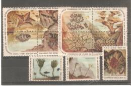 Serie Nº 790/804 Cuba - Crustacés