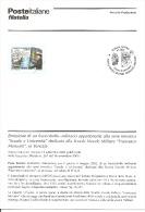 ITALIA - 2002 Bollettino Ufficiale Poste Italiane Emissione Francobollo Scuola Navale Morosini Di Venezia - Marittimi
