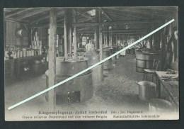 Herbesthal. Kriegsverpflegungs- Anstalt Herbesthal.  1915, Feldpost.   2 Scans - Welkenraedt