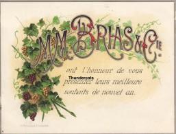 ANCIENNE LITHO SEVEREYNS CHROMOLITHO M M BRIAS COMPANIE BRUXELLES ?? - Faire-part