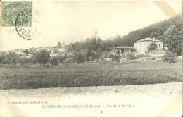 Chateauneuf De Galaure Vue De La Merliere - Autres Communes