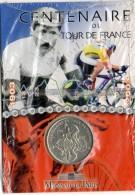 Monnaie  De  Paris, Sport  Cyclisme, Pièce  Argent  Du  Centenaire  Du  Tour  De  France - Francia