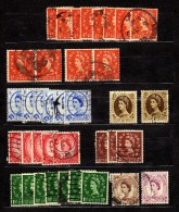 Lot 37 Stamps Used UK - Vrac (max 999 Timbres)