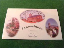 BC7-4-250-2 CPm Ecaussinnes Hameau De La Bassée - Ecaussinnes