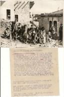 JERUSALEM : SUPERBE ET RARE  PHOTO DE PRESSE - 1948 - Accompagnée De L'article Du Journaliste - VOIR SCANS - Palästina
