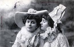 PIERETTE Et Polichinelle - 2 Hübsche Frauen In Clownkostüm, Gel.1904 - Frauen