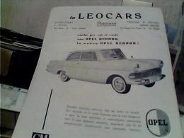 LIBRO 26 PG AUTOMOBILE CLUB PIACENZA  PUBBLICITA AUTO CAR OPEL RECORD  TERME S ANDREA BAGNI 1960 EL8398