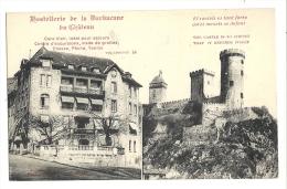 Cp, Commerce, Hostellerie De La Barbacane Du Château - Restaurants