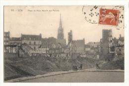 Cp, 59, Lille, Place Du Vieux Marché Aux Poules, Voyagée 1920 - Lille