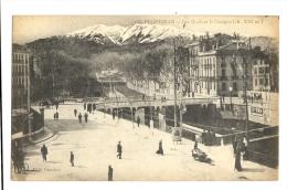 Cp, 66, Perpignan, Les Quais Et Le Canigou - Perpignan