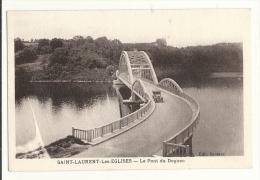 Cp, 87, Saint-Laurent-les-Eglise, Le Pont Du Dognon - France