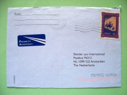 Ireland 2001 Cover To Holland - Christmas - Three Kings - Camels - Scott 1276 = 1.25 $ - 1949-... Repubblica D'Irlanda